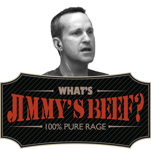 Jimmy's beef: Jordan's flip-flops; Matt's friend Mike, and Matt's accusation that Jimmy doesn't mention his flip-flop disdain as often as he used to