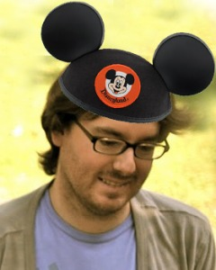 A totally unretouched photo of Garon at Disneyland